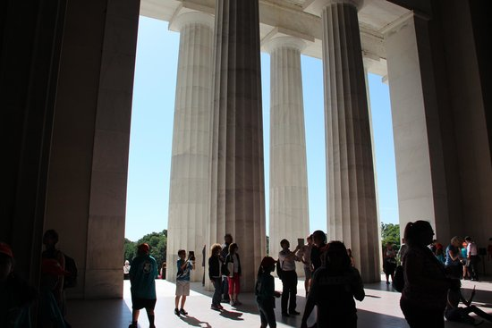 Lincoln Memorial et Reflecting Pool : внутри