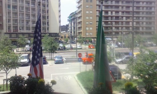Hotel Smeraldo : vista dalla stanza.