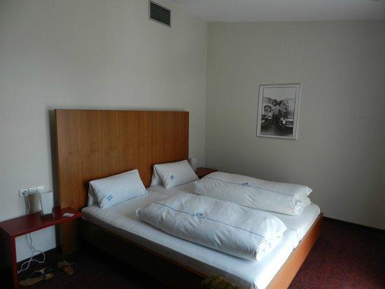 Hotel City Krone: Chambre double confort
