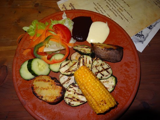 Stredoveka Krcma (Medieval Tavern): Vegetarian Platter
