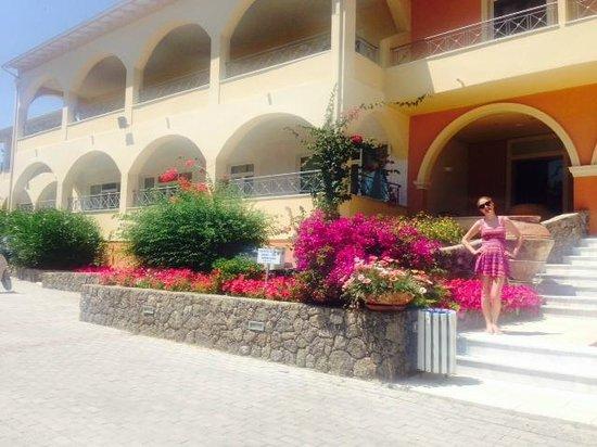 Art Hotel Debono: Entrance