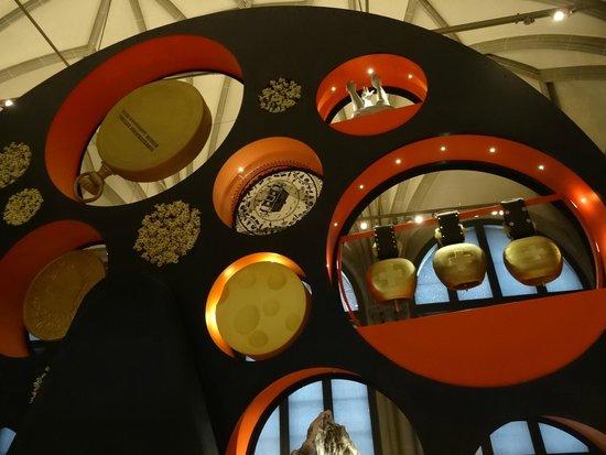 Swiss National Museum: Modern display at Landesmuseum Zurich