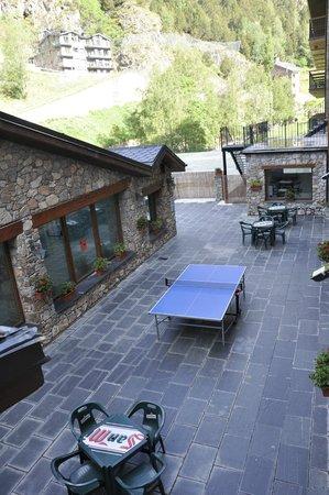 Hotel Segle XX: Terraza