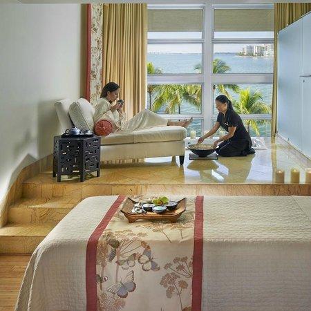 Mandarin Oriental, Miami: Spa Suite