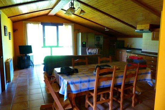 Casa Rural Ekoigoa: El salón-comedor.