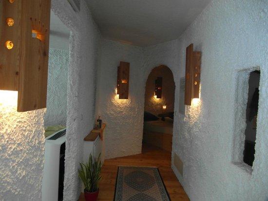 Hotel Bergschlössl: particolare area relax