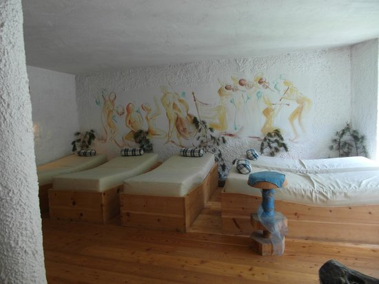 Hotel Bergschlössl: sala relax