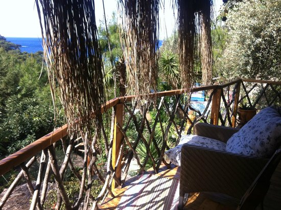 Turan Hill Lounge: View from the Boutique House
