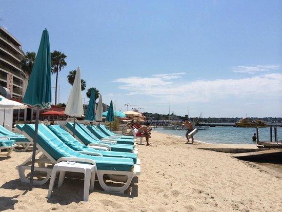 La haut plage : Vistas