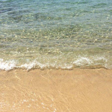La haut plage : El mar