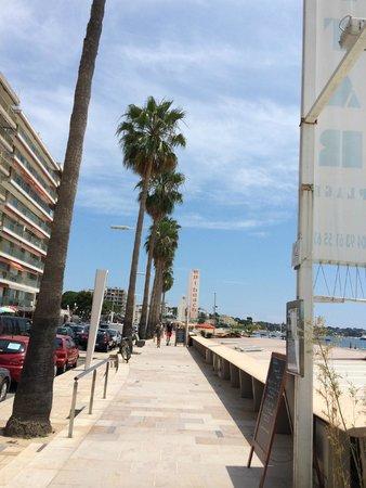 La haut plage : Ingreso