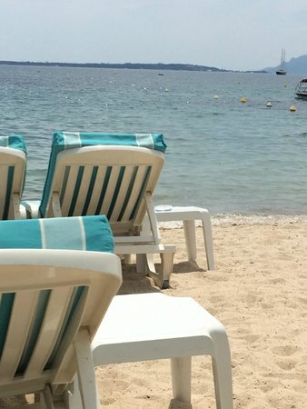 La haut plage : La playa