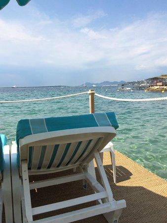 La haut plage : Playa