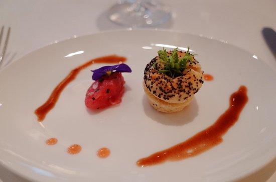 Restaurant La Soupiere : Amuse-bouche