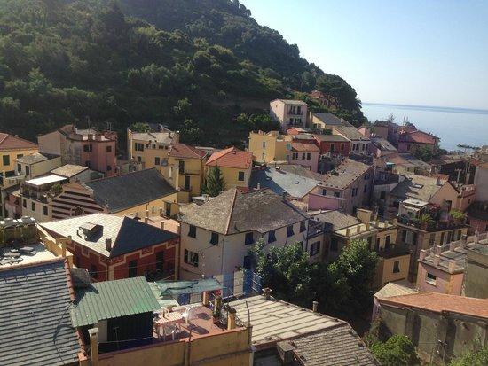 Hotel Villa Steno: Vista al mar desde mi habitación