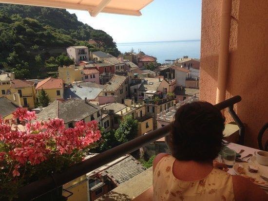 Hotel Villa Steno: Desde el desayunador