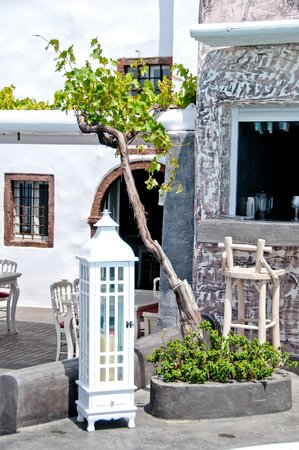 Andronis Boutique Hotel: Restaurant