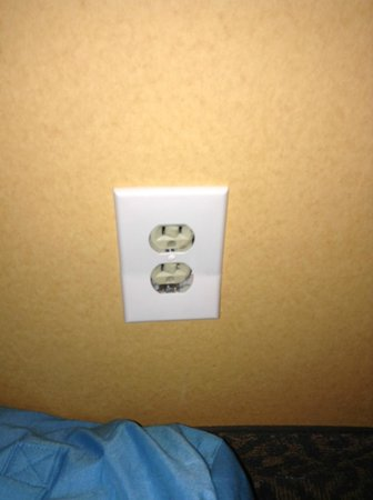 Comfort Inn Atlantic City North: power socket..