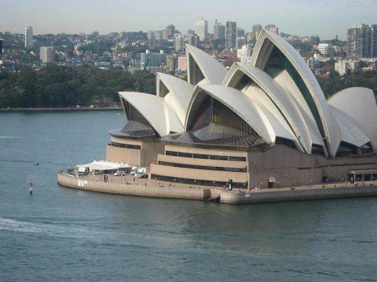 The Rocks : Sydney Opera House from Sydney Harbour Bridge