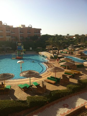 The Three Corners Sunny Beach Resort: View from balcony