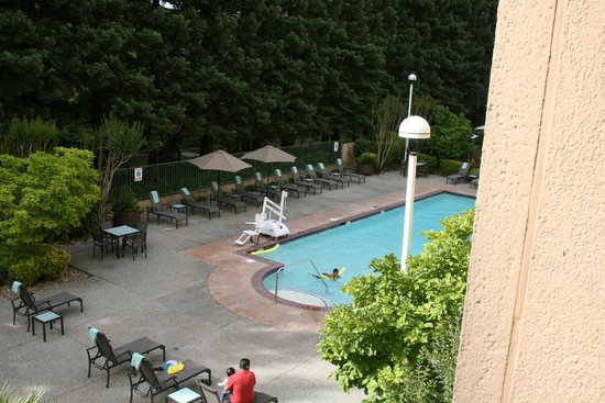 San Ramon Marriott: View from room 526 (I think)