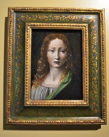 Museo Lázaro Galdiano: Problemas con su autoría, Leonardo de Vinci por medio