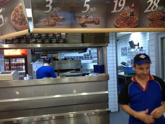 Dominos Kitchen home delivery - picture of domino's pizza, istanbul - tripadvisor