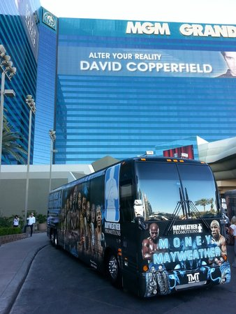 MGM Grand Hotel and Casino: fight weekend