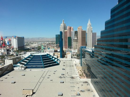 MGM Grand Hotel and Casino: from the room