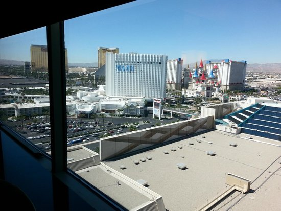 MGM Grand Hotel and Casino : Views from the room