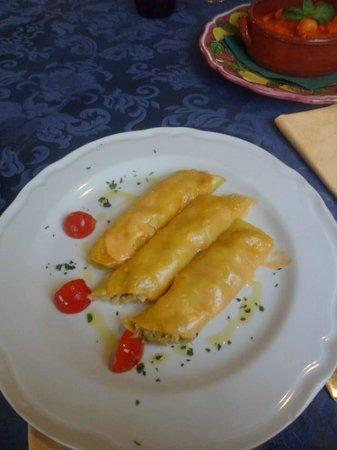 La Vecchia Cantina: Seafood Cannelloni