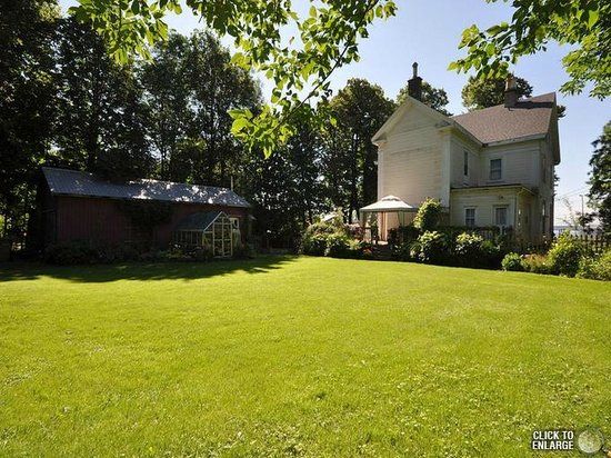 The Pictou Puffin Bed and Breakfast: Backyard