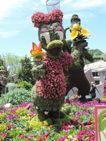 Epcot: Flower Garden