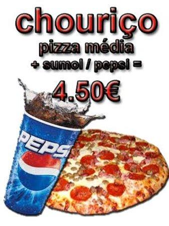 Pizzaria Italiana Xaramba: xaramba pizza de chouriço