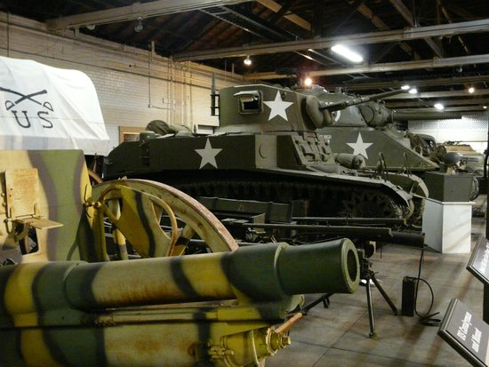 Texas Military Forces Museum: Indoor display