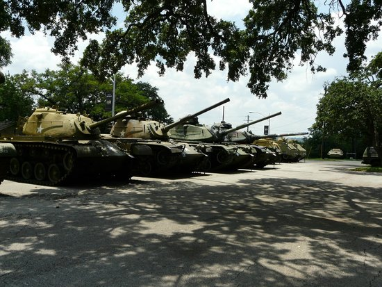 Texas Military Forces Museum: Outdoor display
