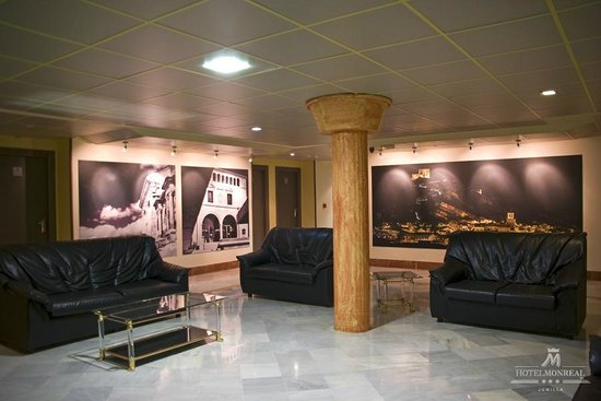 Hotel Monreal: Salón primera planta