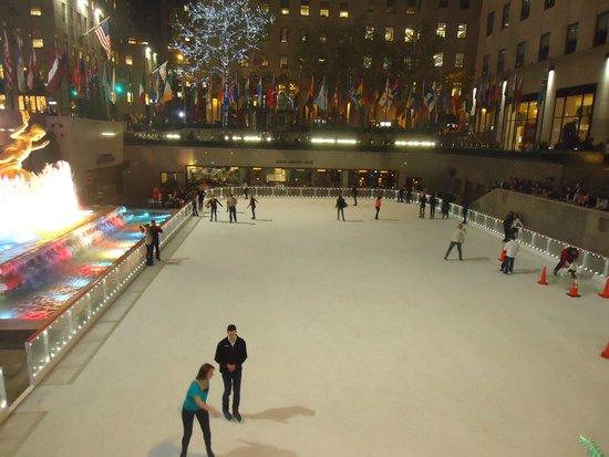 Rockefeller Center: Patinação no gelo