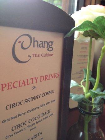 Chang Thai Cuisine: Chang