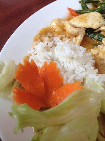 Chang Thai Cuisine: Mmmm Penaeng Curry with flair!