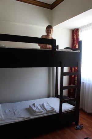 Cesars Resort Side: двухярусная кровать