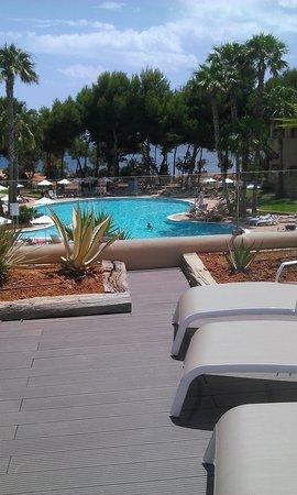 Grupotel Santa Eularia Hotel: new  seating area