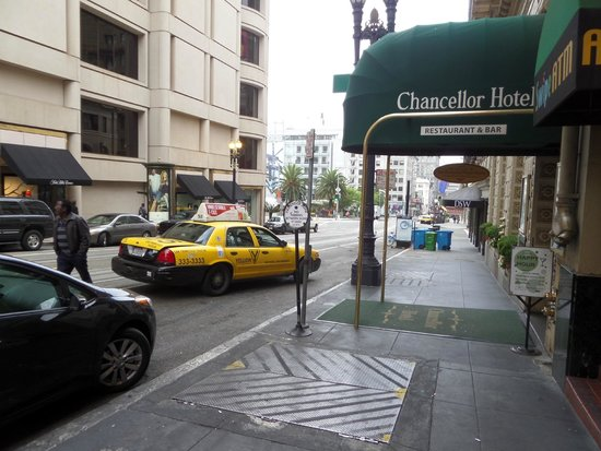 Chancellor Hotel on Union Square: Hotel Front