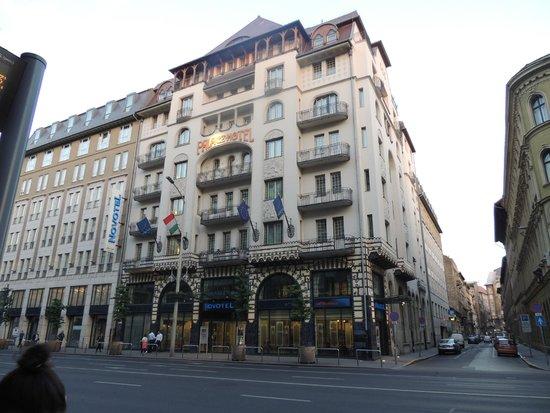 Novotel Budapest Centrum: Vista externa do hotel