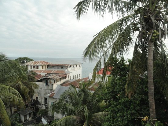 Dhow Palace Hotel: Roof top view