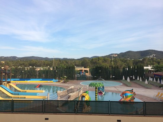 TUI Family Life Sirenis Aura : view from room of waterpark