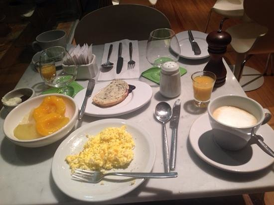 Casa Calma Hotel: A little sampling of some of the yummy breakfast food at Casa Calma