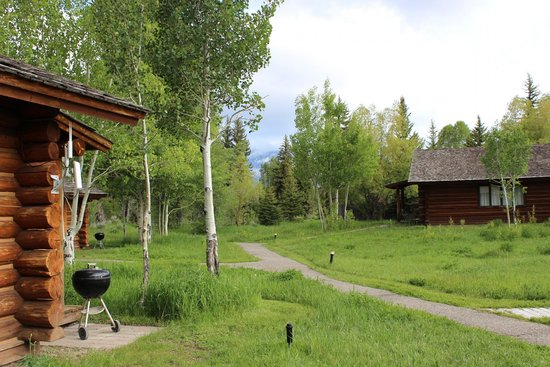 Dornan's Spur Ranch Cabins: View from our cabins