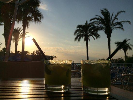 Sirenis Hotel Club Aura : last night drinks