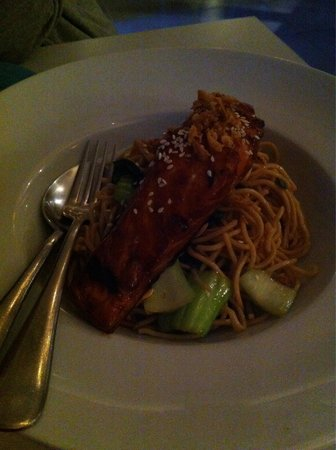 Basilico Restaurant: Noodles con salmone